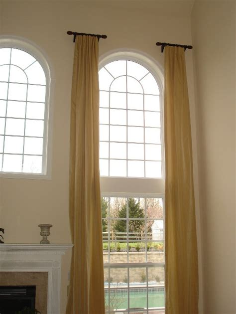 arch window curtain ideas 25 best ideas about arched window treatments on pinterest
