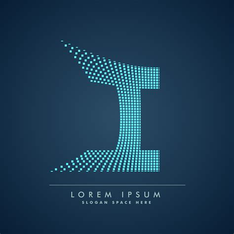 abstract creative dots logo letter I - Download Free ... G Design Letter