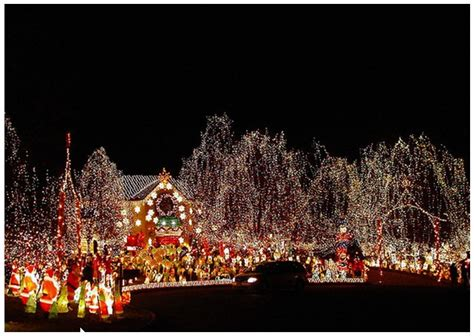 cool christmas light displays overwhelming 2