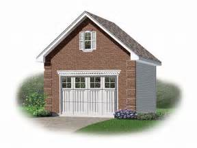 how many square is a 1 car garage 1 car garage plans one car garage plan with loft 028g