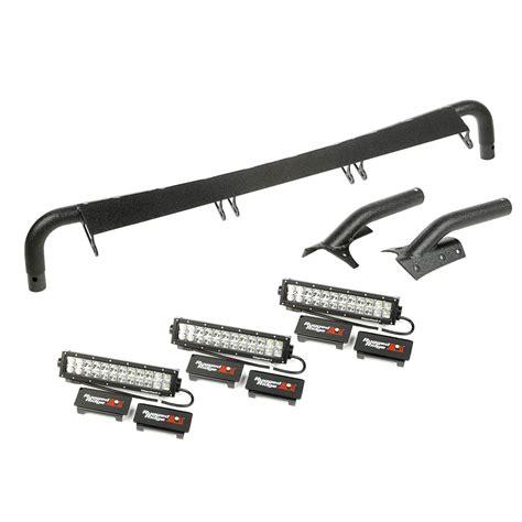 wrangler led light bar 11232 29 1997 2006 wrangler windshield led light bar kit
