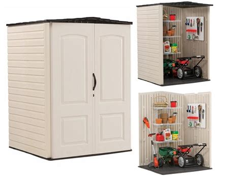 shed plans  rubbermaid roughneck garden shed review