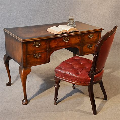 antique study table antique desk oak walnut writing study