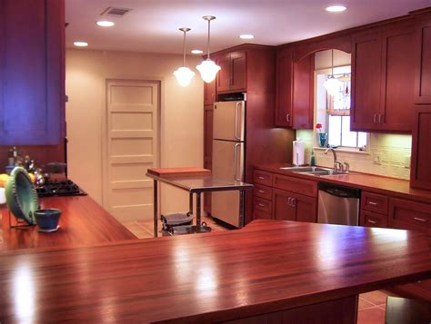 Countertop Joint by Custom Wood Countertop Options Joints For Multi Section Tops