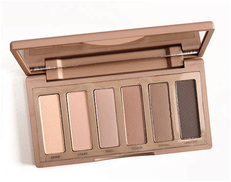 Nkd 2 Eyeshadow Eye Shadow Terlaris decay naked2 basics 6 pan eyeshadow palette review swatches