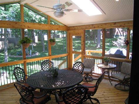 kansas city screen porch interior design archadeck of