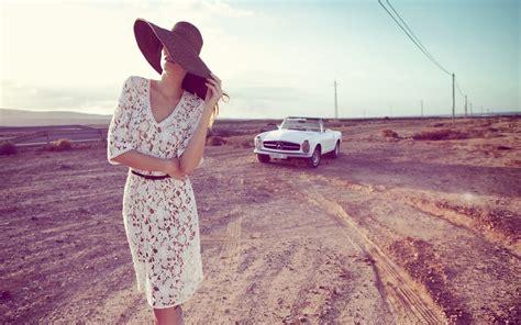 wallpaper hd vintage girl photography women model landscape car mercedes benz