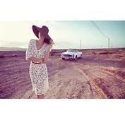 Photography Women Model Landscape Car Mercedes Benz