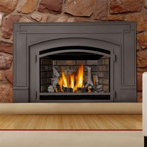 cost to install gas fireplace insert 1000 ideas about gas fireplace insert prices on