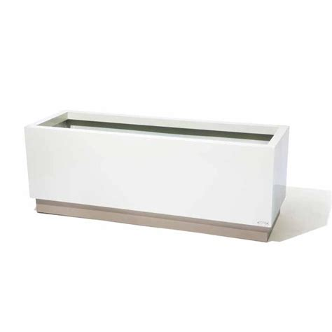 Metal Rectangular Planter by Rectangular Metal Planters For Hotels Commercial Metal