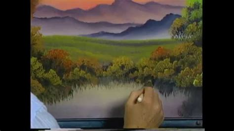 Bob Ross The Of Painting A Friend Named