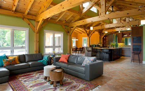 home design roomscapes in vermont designs for living net zero new england timber frame home gets gorgeous green