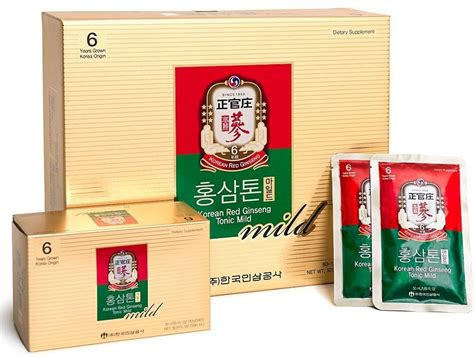 Korean Ginseng Tonic korean ginseng herbal tonic mild korean ginseng