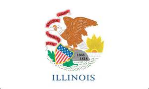 illinois state colors your state flag stinks