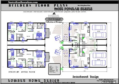 townhouse floor plans australia home ideas