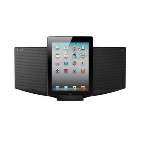 sony cmtv50ip micro hi fi shelf top audio system with ipod