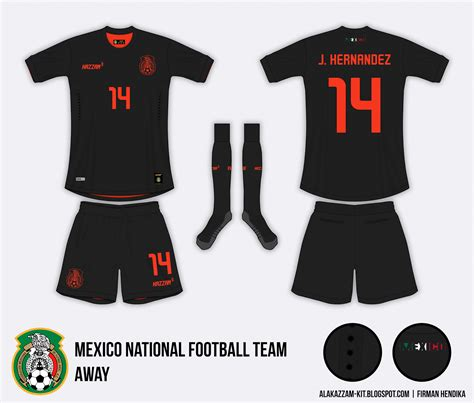Jersey Timnas Spanyol 2010 mexico national football team away kit kazzam
