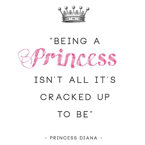 printable princess quotes princess diana printable quotes the blissful bee