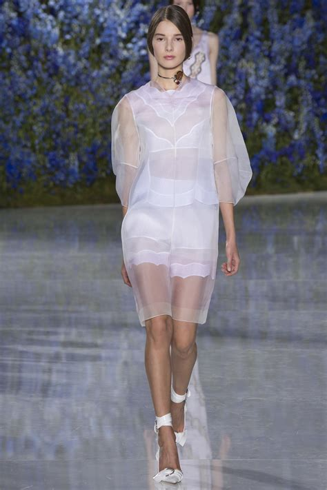 Summer 08 Trends Sheer Fabrics by Christian Rtw S S 2016 At Fashion Week Runway