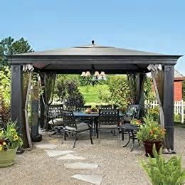 Backyard Patio With Gazebo by Affordable Gazebos From Target In Iron Metal Amp Vinyl