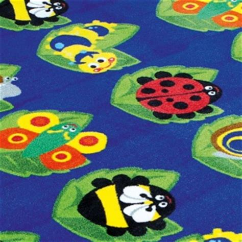 Large Classroom Rugs by Back To Nature Square Bug Placement Carpet