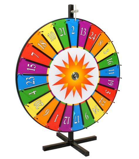 Instant Win Spin The Wheel - bouncer rental nw prize wheel