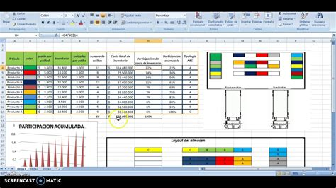 layout en excel almacen layout youtube