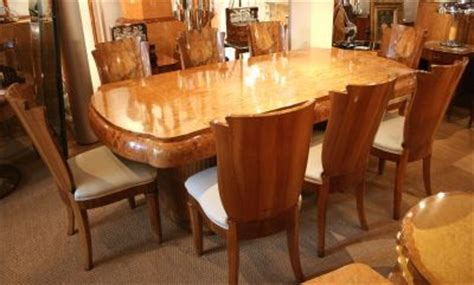 Deco Dining Room Furniture Uk Deco Dining Table And Chairs 177194