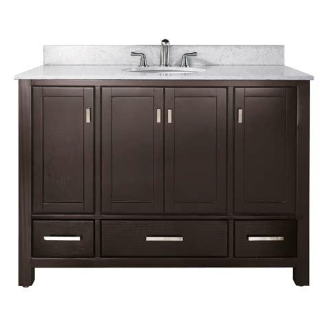online bathroom vanities avanity modero 48 quot bathroom vanity espresso free