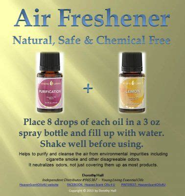 Air Freshener Living Essential Oils 43 Best Images About Essential Oils Cleaning On