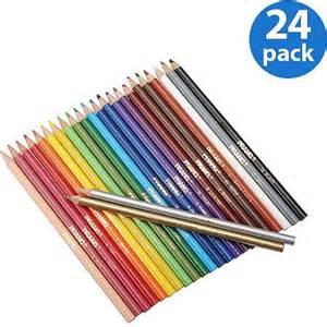 colored pens walmart prang colored pencils 24 pack walmart