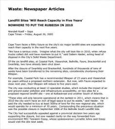 Microsoft Kb Article Template by Doc 585630 Newspaper Article Template 12 Newspaper