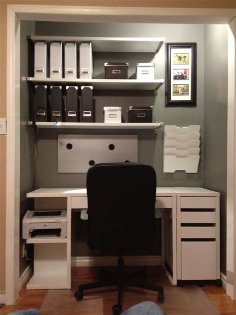 closet office for the home
