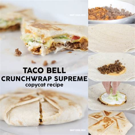Taco Bell Make That Tacostada Bell Reopens In Mexico by Diy Taco Bell Crunchwrap Recipe Page 2 Of 2 Smart