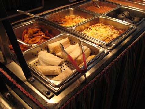 mexican buffet at acapulco make your own tacos any tots