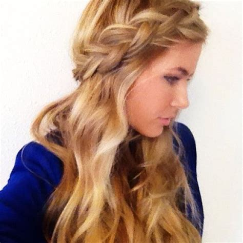 how to do a ball with braids hair for winter ball possibility random pinterest