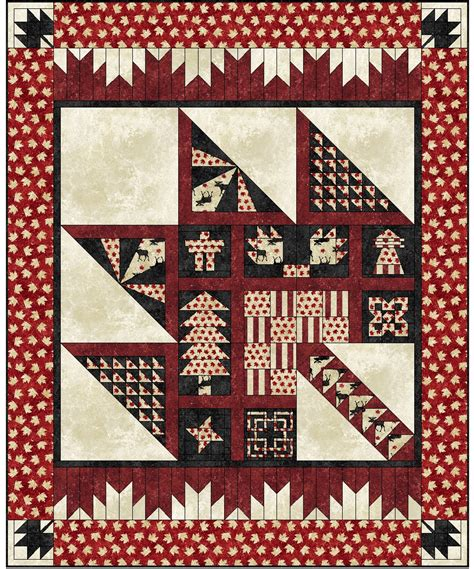 Quilts Canada by Purely Canadian Quilt Pattern Quilts By Jen