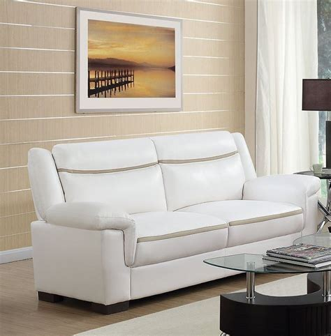 arabella sofa arabella white sofa from coaster coleman furniture