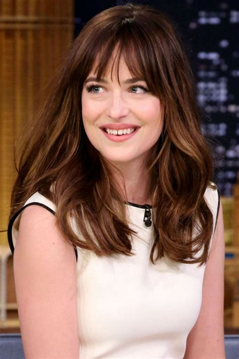 how to cut bangs like dakota johnson 21 fringe haircut ideas designs hairstyles design