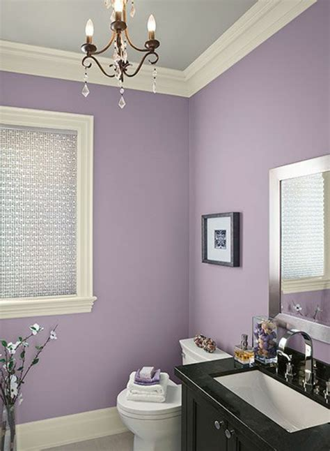 lila und graues badezimmer wandfarbe badezimmer frische ideen f 252 r kleine r 228 umlichkeiten