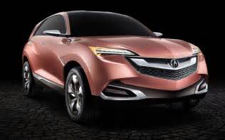 2016 acura mdx concept redesign car brand news