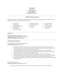 Resume Samples Medical Assistant by Medical Assistant Resume Guidelines And Samples Raw Resume