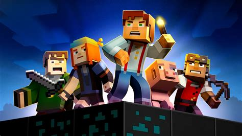 minecraft story mode minecraft story mode the complete adventure coming to nintendo switch in june