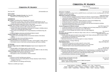 Margins On A Resume by Margin Resume Resume Ideas