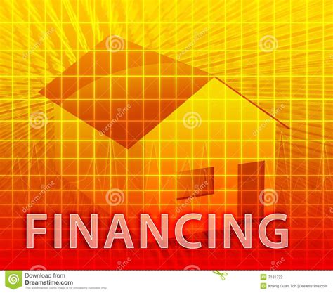 in house financing house financing stock photography image 7181722