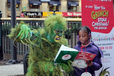 Grinch Square Garden by Photo Coverage The Grinch Takes Square