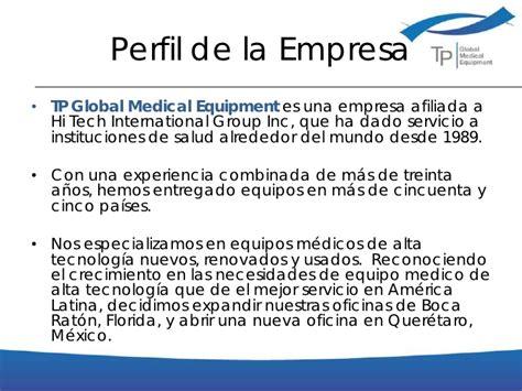 ejemplo de carta de presentacin para una empresa presentacion de la empresa