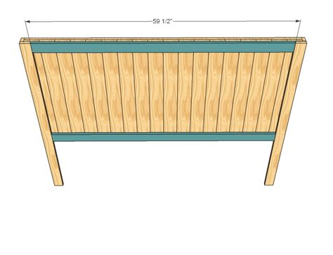 diy bed headboard plans free plans free