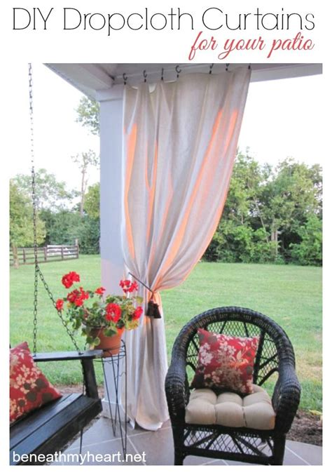 Patio Curtains Diy by 25 Best Ideas About Pergola Curtains On Deck