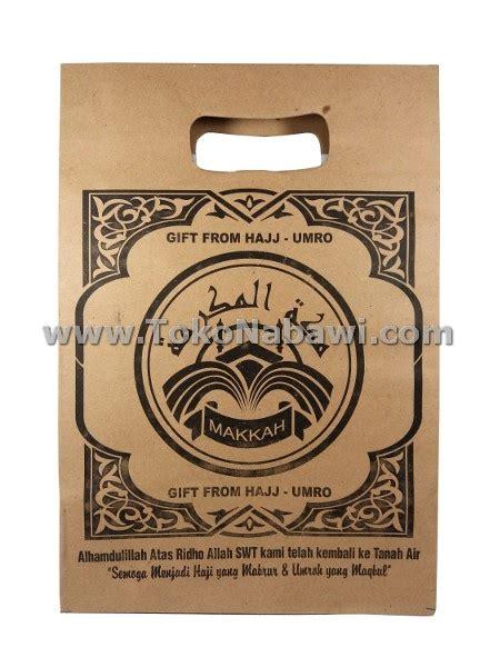 Tas Haji Plastik Tas Souvenir Oleh Oleh Haji Umroh tas haji coklat oleh oleh haji